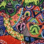 FOLKHEART by SARA TRAIL FOR FABRIQUILT   MULTY COLOURS