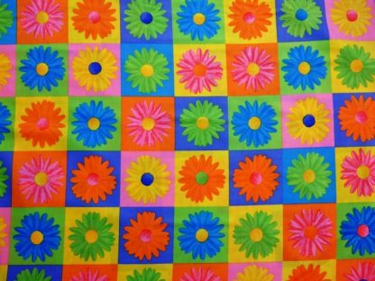 CRAZY DAISY PATCHWORK by RIVIERA/ VAN BEERS for SPRING CREATIVE PRODUCTS GROUP