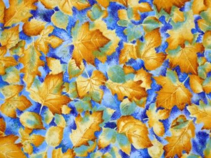TIMELESS TREASURES by FABRIC INC. AMBER/BLUE