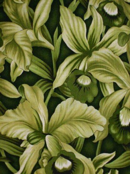 FLOWER MART by BENARTEX STUDIO for BENARTEX  GREEN