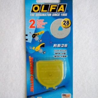 OLFA ROTARY CUTTER SPARE BLADE 28mm