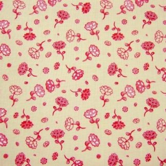 CHANTEILLE DESIGN 058   for LOUDEN  RASPBERRY ON CREAM