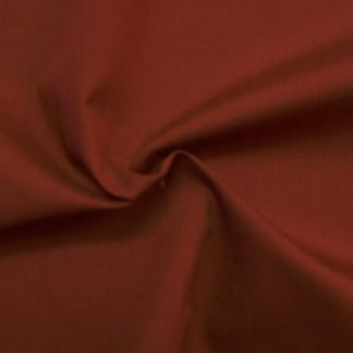 POLY/COTTON PLAIN FABRIC  WINE RED