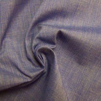 POLY/COTTON PLAIN FABRIC  DARK DENIM BLUE