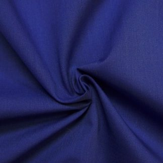 POLY/COTTON PLAIN FABRIC  DARK NAVY