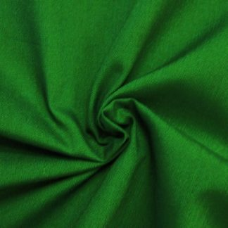 POLY/COTTON PLAIN FABRIC EMERALD GREEN