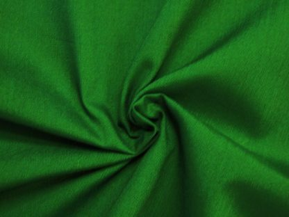 POLY/COTTON PLAIN FABRIC EMERALD GREEN