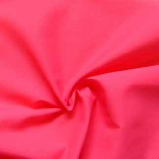 POLY/COTTON PLAIN FABRIC- CERISE PINK -
