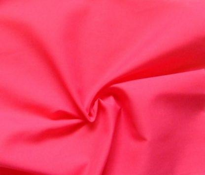 POLY/COTTON PLAIN FABRIC- CERISE PINK -