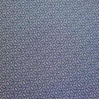 BLUE VARIETY by JO MORTON of ANDOVER FABRICS for MAKOWER UK- NAVY