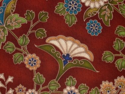 ARABESQUE by CLAUDIA PFEIL cotton fabric brown