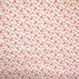 ROUENNERIES DEUX by French General for Moda  cotton fabric  beige /pink