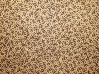 FLORIE PRINT MEDIUM WEIGHT FABRIC -beige/grey