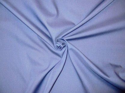 POLY/COTTON PLAIN FABRIC- SKY BLUE-