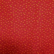 CLASSIC FOLK ART by FABRI- QUILT - RED/GOLD