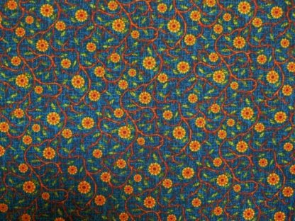 HARVEST TIME by FABRI-QUILT- BLUE/AMBER