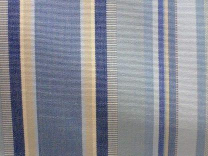 REMAKE HORIZON - heavier weight fabric-BLUE/CREAM