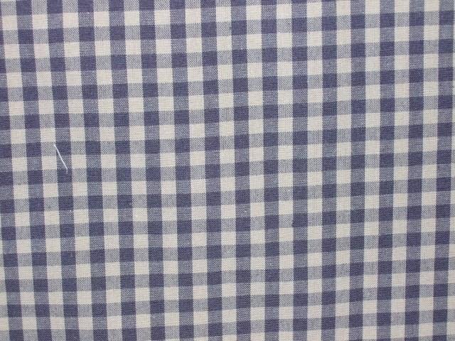 VERCORS GINGHAM heavier weight fabric - beige/grey.