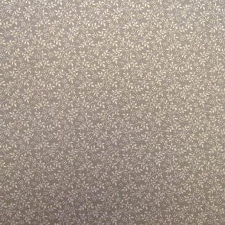 DITZY FLORAL SPRIGG   by JOHN LOUDEN - DUSKY MAUVE/GREY -