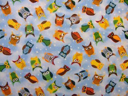 NITE OWLS by JUDY HANSEN for PAINTBRUSH STUDIO - MULTI -