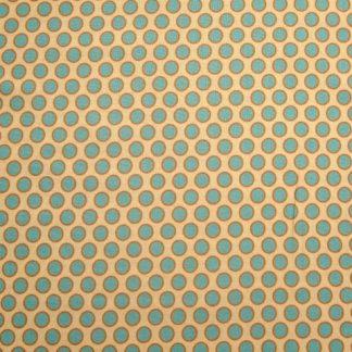 HENNA SPOT  by BETH STUDLEY for MAKOWER UK  - CREAM/TURQUOISE -
