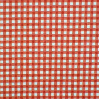 GINGHAM by THE HENLEY STUDIO for MAKOWER UK - RED -