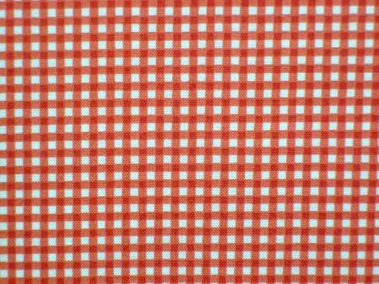 GINGHAM by THE HENLEY STUDIO for MAKOWER UK - RED -