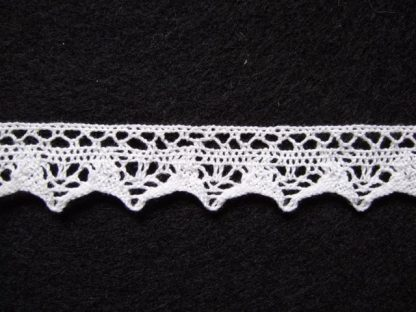 COTTON LACE 18mm/3/4''  NATURAL CALICO per metre
