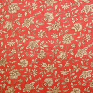 ROUENNERIES DEUX by French General for Moda  cotton fabric red