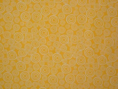 SWIRLES from the Classic Fern collection cotton fabric yellow