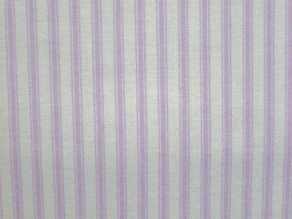 TICKING STRIPE by THE HENLEY STUDIO for MAKOWER UK - LILAC -