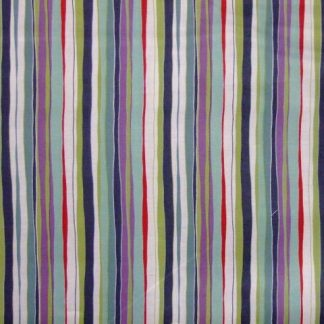 MEADOW STRIPES by BETH STUDLEY for MAKOWER UK  - MULTI -