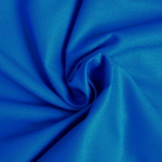 SPECTRUM SOLIDS, COTTON FABRIC by MAKOWER UK - ROYAL BLUE -