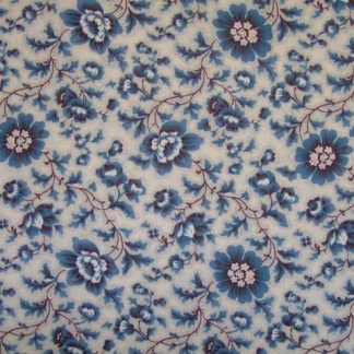 LE BOUQUET FRANCAIS by FRENCH GENERAL for MODA - BLUE/CREAM -