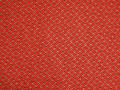 MILL BOOK SERIES 1852 by HOWARD MARCUS for MODA - RED -