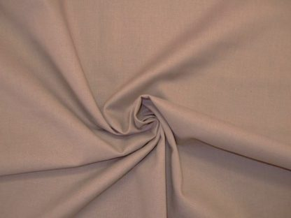 SPECTRUM SOLIDS COTTON FABRIC by MAKOWER- MUSHROOM -
