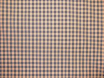 CHECKED COTTON FABRIC - LILAC/BLUE