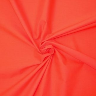 POLY/COTTON PLAIN FABRIC- CHRISTMAS RED -