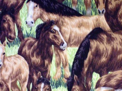 FARM LIVING by PAINTBRUSH STUDIO DESIGN, HORSES - BROWN -