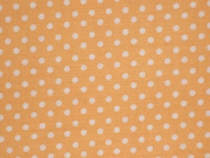 SPOTS from the Classic cotton collection - ORANGE YELLOW -