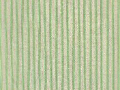 TICKING STRIPE by THE HENLEY STUDIO for MAKOWER  UK -  LIGHT GREEN -