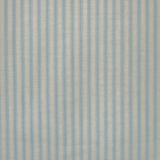 TICKING STRIPE by THE HENLEY STUDIO for MAKOWER UK  -  LIGHT BLUE -