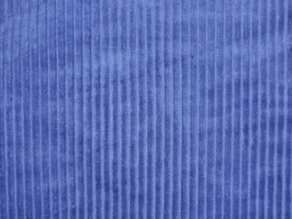COTTON JUMBO CORD FABRIC - BLUE -