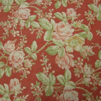 MILL HOUSE INN by Joanna Figueroa, Fig Tree & Co for MODA cotton fabric  brick red/terracota