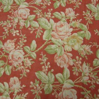 MILL HOUSE INN by Joanna Figueroa, Fig Tree & Co for MODA cotton fabric  brick red/terracota