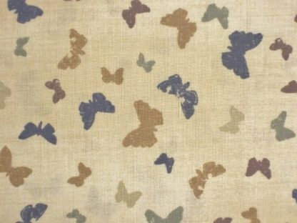 A FIELD GUIDE BUTTERFLY by JANET CLARE for MODA - CREAM -