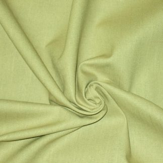 COTTON BABY CANVAS PLAIN DYED - PALE GREEN  -