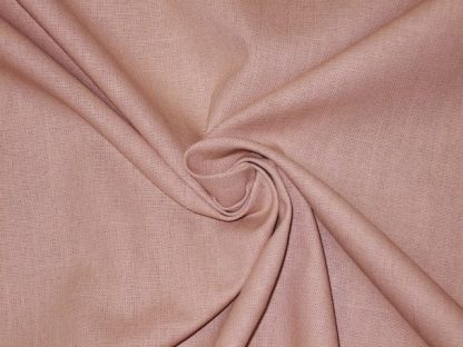 COTTON BABY CANVAS PLAIN DYED - DUSKY PINK  -