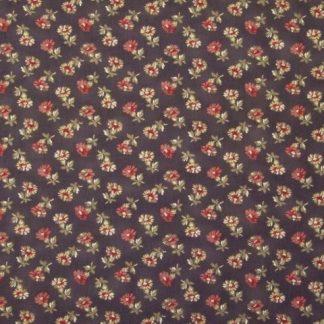 RICHMOND REDS by BARBARA BRACKMAN for MODA -  BROWN/RED/BEIGE -