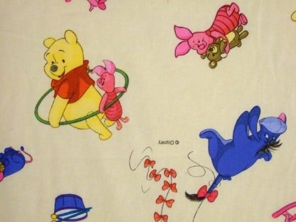 WINNIE THE POOH and FRIENDS by DISNEY for TEXCO - MULTI ON CREAM -